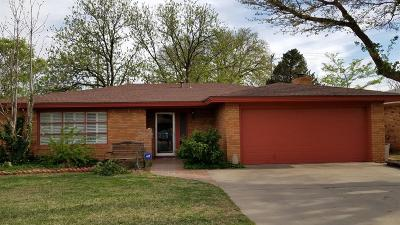 Lubbock Single Family Home For Sale: 5417 8th Place