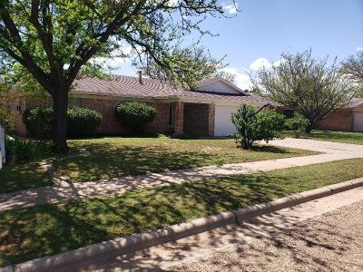 Lubbock Single Family Home For Sale: 5515 Grinnell Street