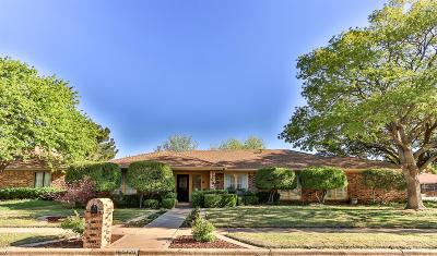 Lubbock TX Single Family Home For Sale: $202,800