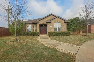 Lubbock Single Family Home For Sale: 10510 Hartford Avenue