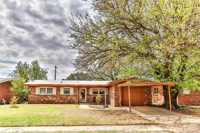Lubbock Single Family Home For Sale: 5017 45th Street