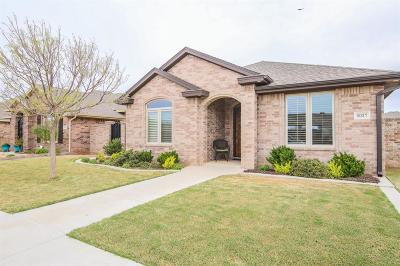 Lubbock Single Family Home Under Contract: 6037 83rd Street