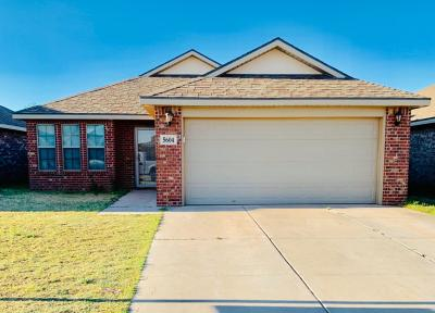 Lubbock Single Family Home For Sale: 5604 110th Street
