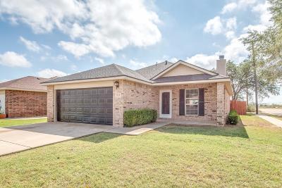 Lubbock Single Family Home For Sale: 933 Xavier Street