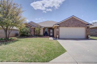 Lubbock Single Family Home For Sale: 5513 104th Street