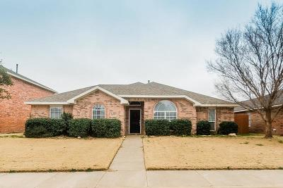 Lubbock Single Family Home Under Contract: 4915 Harvard Drive
