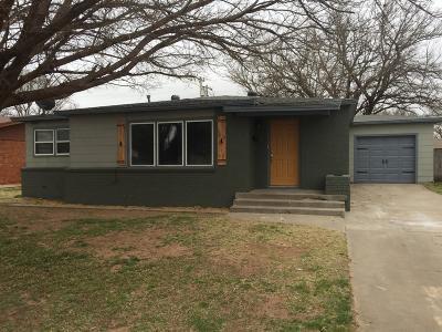 Lubbock Rental For Rent: 3813 41st Street