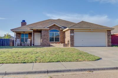 Lubbock Single Family Home For Sale: 7512 85th Street