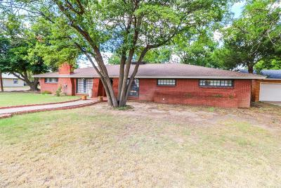 Bailey County, Lamb County Single Family Home For Sale: 501 E 12th Street