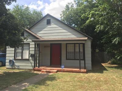 Lubbock Rental For Rent: 2210 28th Street