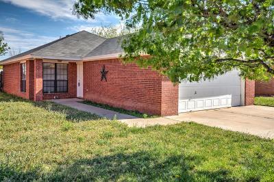 Lubbock Single Family Home For Sale: 908 81st Street