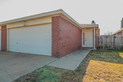 Lubbock Rental For Rent: 2413 87th Street