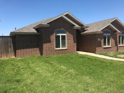 Lubbock Single Family Home For Sale: 6116 101st Street