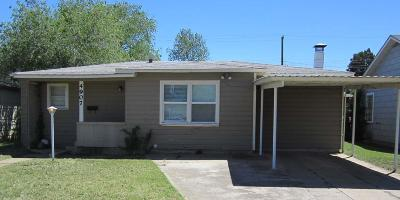 Single Family Home For Sale: 4907 38th Street