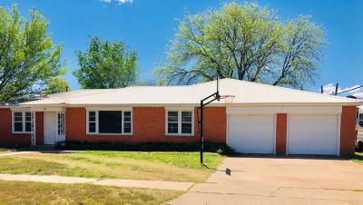 Littlefield Single Family Home For Sale: 500 E 17th Street