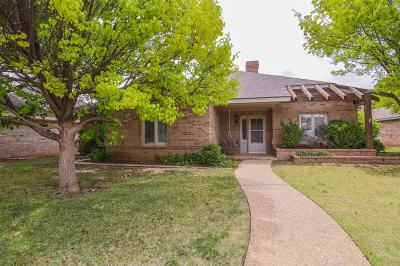 Lubbock Single Family Home Under Contract: 4815 1st Place
