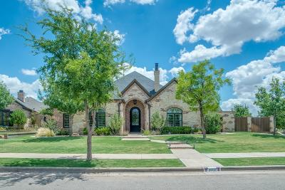 Lubbock Single Family Home For Sale: 3802 109th Street
