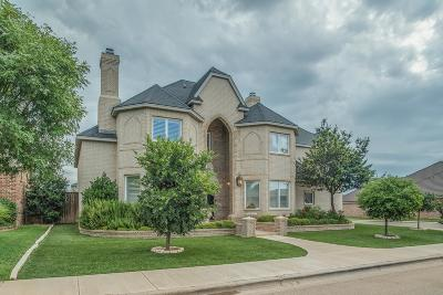 Lubbock TX Single Family Home For Sale: $499,900