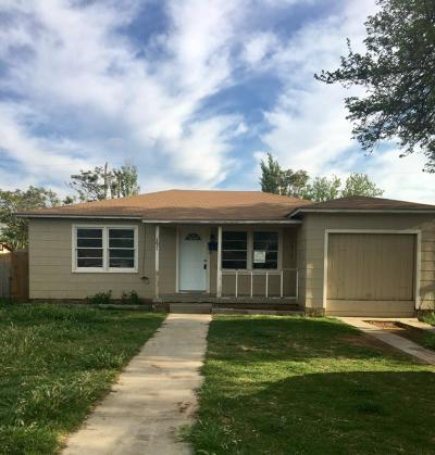 Lubbock County Single Family Home Under Contract: 3011 47th Street