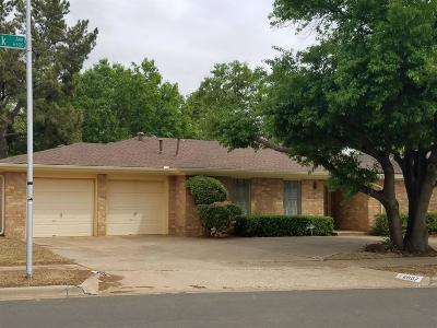Lubbock TX Single Family Home For Sale: $186,999