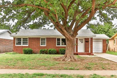 Lubbock County Single Family Home Under Contract: 1317 60th Street
