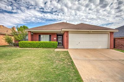 Lubbock Single Family Home For Sale: 5416 100th Street