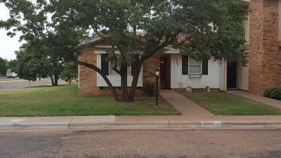 Lubbock County Townhouse For Sale: 5768 38th Street