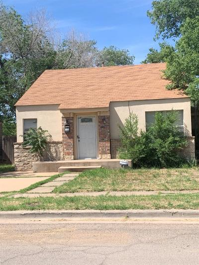Single Family Home Under Contract: 2108 26th Street