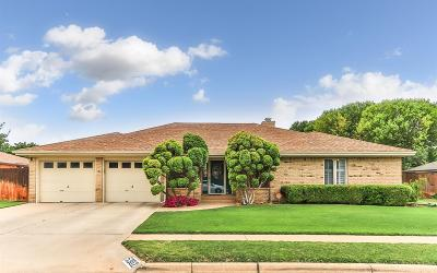 Lubbock Single Family Home Under Contract: 5302 87th Street