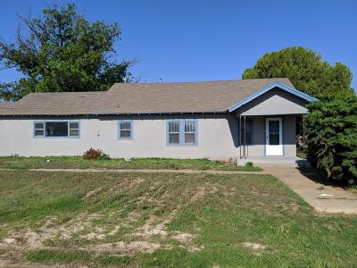 Slaton Single Family Home For Sale: 240 N 11th Street