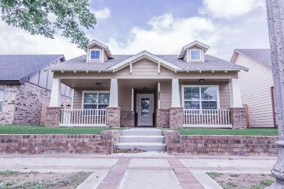 Lubbock TX Single Family Home For Sale: $255,000