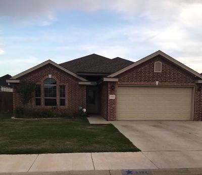 Lubbock Single Family Home For Sale: 6909 71st Street