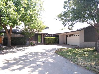 Lubbock Single Family Home For Sale: 3413 92nd Street
