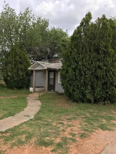 Lubbock TX Single Family Home Under Contract: $10,000