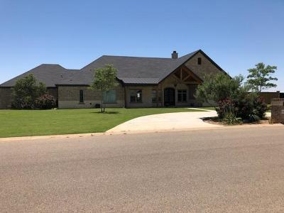 Lubbock Single Family Home For Sale: 8903 N County Road 6875