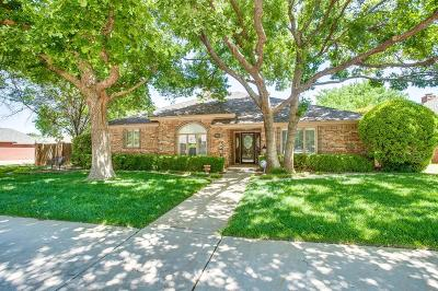 Lubbock Single Family Home Under Contract: 8501 Richmond Avenue
