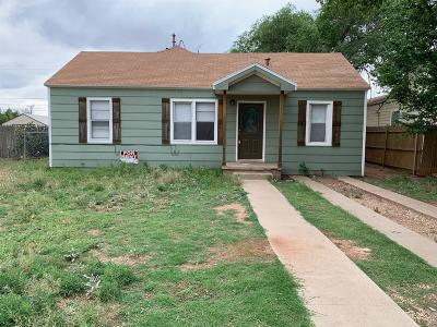 Single Family Home For Sale: 118 Uvalde Avenue