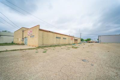 Slaton  Commercial For Sale: 130 E Lynn Street