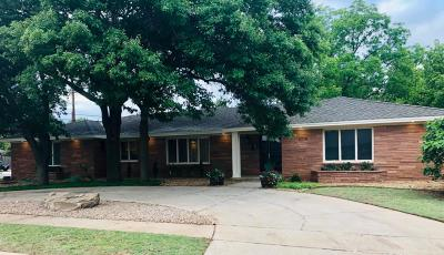 Lubbock Single Family Home For Sale: 3714 68th Street