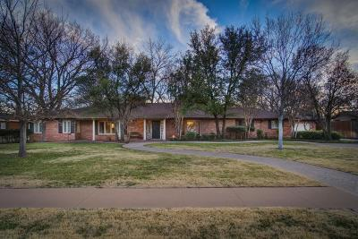 Lubbock Single Family Home For Sale: 4603 17th Street