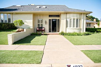 Lubbock Single Family Home Under Contract: 4922 92nd Street