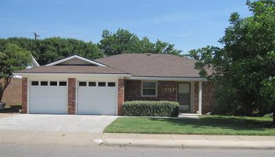 Lubbock Single Family Home For Sale: 4710 62nd Street