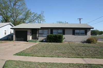Single Family Home For Sale: 3802 30th Street