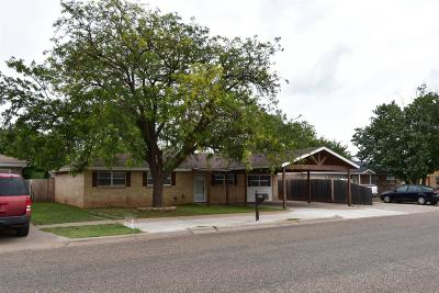 Bailey County, Lamb County Single Family Home Under Contract: 1211 W 13th
