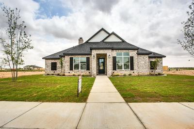 Lubbock Single Family Home For Sale: 4411 139th Street