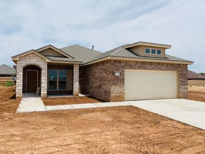 Lubbock Single Family Home For Sale: 5616 116th