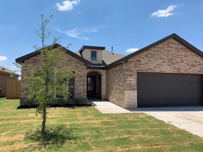 Lubbock Single Family Home For Sale: 5609 116th