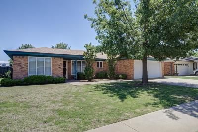 Lubbock Single Family Home For Sale: 5301 92nd Street
