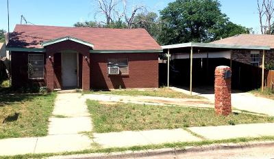 Lubbock County Single Family Home Under Contract: 506 40th Street