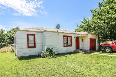 Lubbock Single Family Home Under Contract: 2811 41st Street
